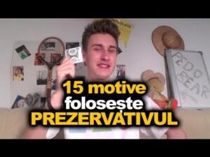 Mihai Zmenta iti ofera 15 motive pentru a folosi prezervativul