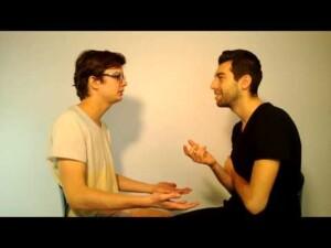 Testimonial video despre ce se intampla cand dragostea loveste in doi, deodata