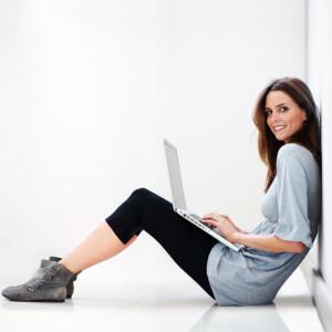 Fata cu calculator